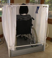 Handicap Showers | LiteShower™ Portable Wheelchair-accessible Showers