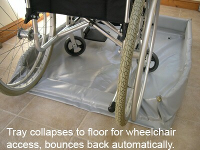 wheelchair-accessible showers